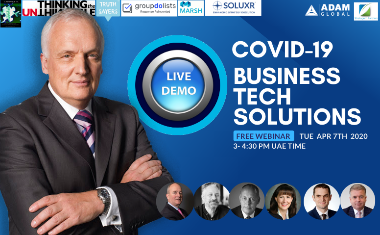 COVID-19 Business Tech Solutions: LIVE DEMO: FREE WEBINAR