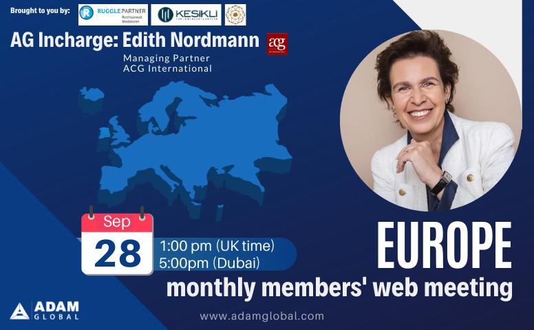 AG Europe Members Meeting: Oct 2020
